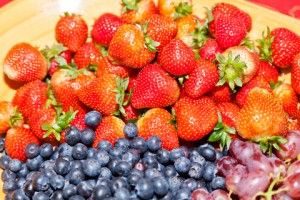 Whatever your breakfast, add to its taste and healthfulness with lots of fresh or frozen fruit