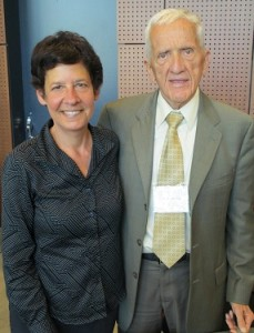 I was honored to chat with Dr. Campbell for a few moments at a recent conference