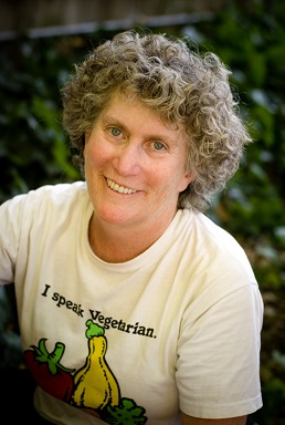 Patti Breitman is one of the three coauthors of Never Too Late to Go Vegan
