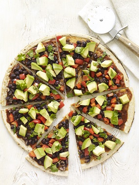 This South-of-the-Border pizza is one of 100 delicious recipes in The Forks Over Knives Plan