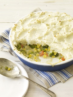 Yes, you can and will lose weight with such outstanding foods as this Shepherd's Pot Pie