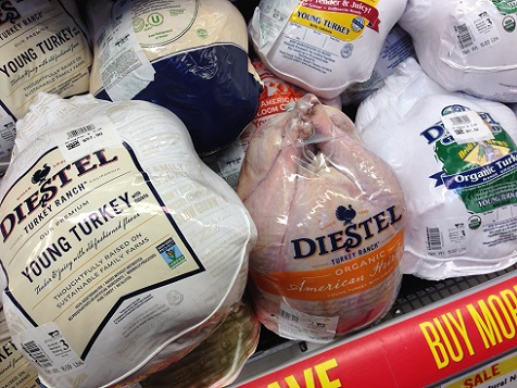 "You can pay a lot of money for turkey labeled as ""organic"" or ""sustainable,"" but there is no evidence this reduces the health risks of eating poultry"