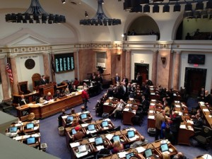 Tension builds on the floor of the Kentucky House of Representatives