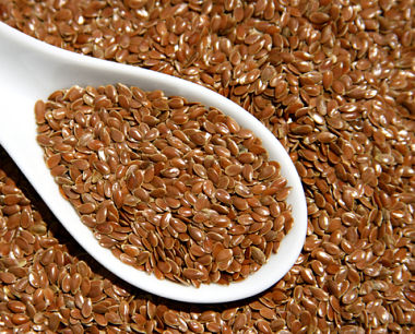 Flax seeds are one of Dr. Greger's Daily Dozen foods