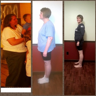 Melody has great reason to be happy. Here she is in 2008, in March 2013 after a few months on a plant-based diet, and in the late fall of 2013