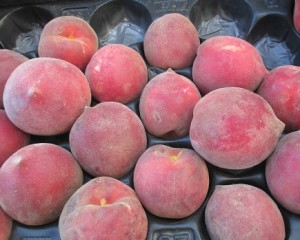 These peaches taste even better than they look. I speak from experience.