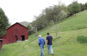 In Plant Pure Nation, Nelson Campbell and his dad, T. Colin Campbell, visit their old family farm