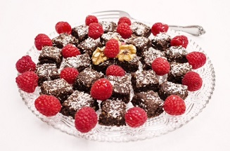 Chocolate power bites are one of the irresistible desserts in The PlantPure Nation Cookbook