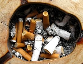 Looking at cigarettes, it's easy to realize that they contain thousands of toxic substances